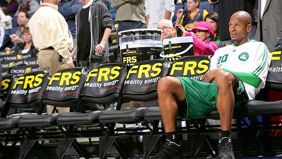 Ray on the bench