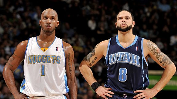 Chauncey Billups, Deron Williams
