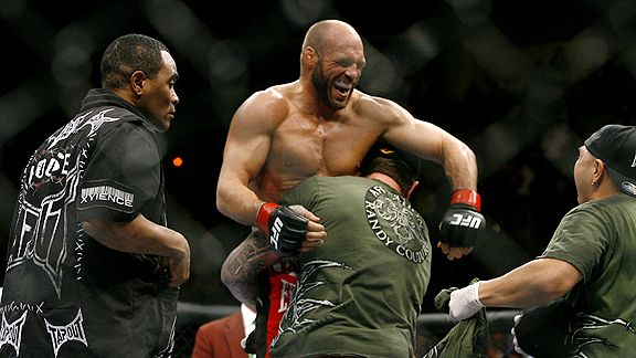 Randy Couture vs. Mark Coleman
