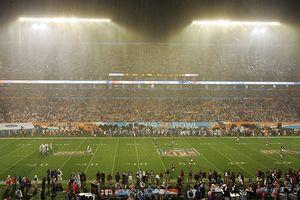 Super Bowl XLI Rain