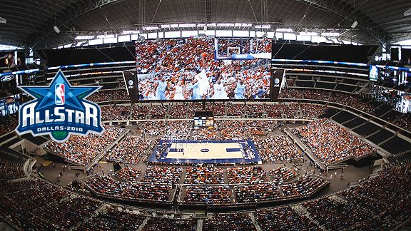 Cowboys Stadium Makes Nba All Star Game A Record Setting