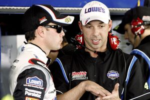 Chad Knaus & Jimmie Johnson