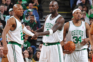 Ray Allen/Kevin Garnett/Paul Pierce