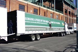 Red Sox equipment truck