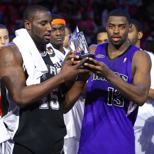 Tyreke Evans and DeJuan Blair