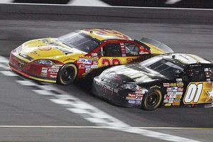 Kevin Harvick and Mark Martin