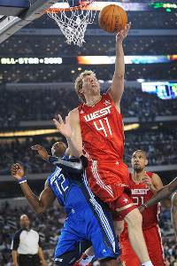 Dirk Nowitzki All Star Game