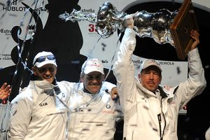 BMW/Oracle celebration