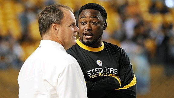 Kevin Colbert and Mike Tomlin