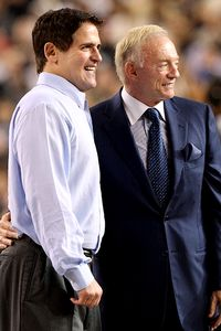 Jerry Jones & Mark Cuban