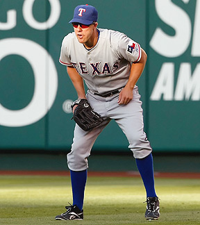David Murphy has belted 32 home runs and has 131 RBIs over the last two seasons for the Rangers.