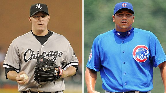 Jake Peavy and Carlos Zambrano