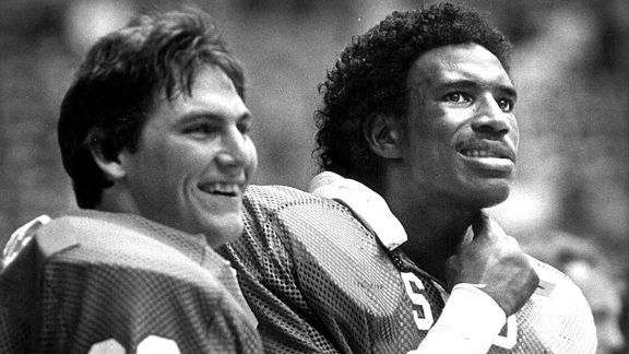 Craig James and Eric Dickerson