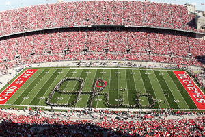 Ohio State Buckeyes marching band