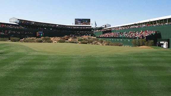 16th hole at TPC Scottsdale
