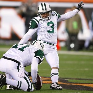Boehm/Getty Images Kicker Jay Feely hopes to remain with the Jets