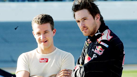 A.J. Allmendinger & Scott Speed