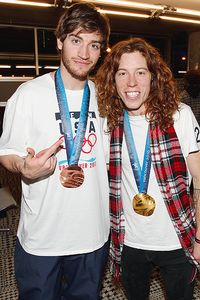 Scotty Lago and Shaun White