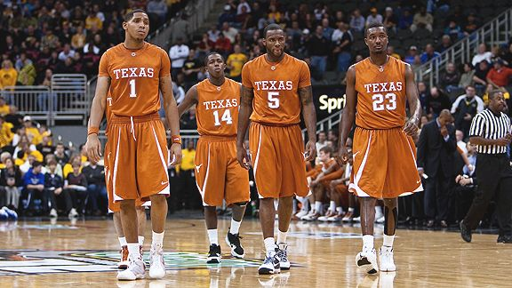 the latest d6e9b 67d41 Texas Basketball – Too much of a good thing? Texas Longhorns ...