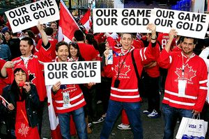 Canadian hockey fans