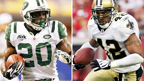 Thomas Jones/Darren Sharper