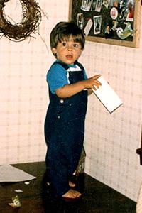 Mark Becker at age 1