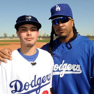 Chris Ramirez and Manny Ramirez