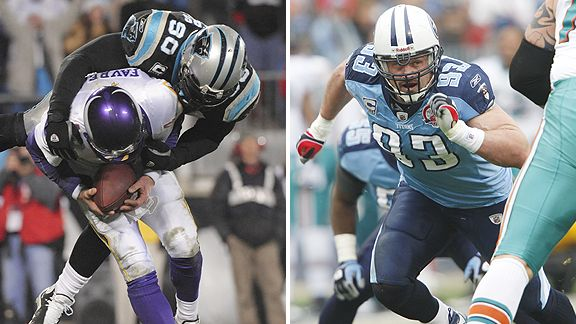 Julius Peppers and Kyle Vanden Bosch
