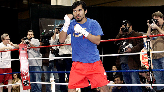 Manny Pacquia Shadowboxing