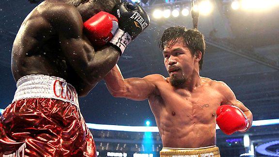 Manny Pacquiao Wins Against Joshua Clottey