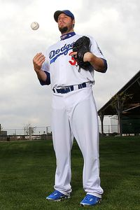 Eric Gagne of the Los Angeles Dodgers