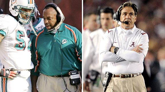 George Edwards & Nick Saban
