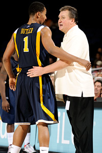 DaSean Butler & Bob Huggins
