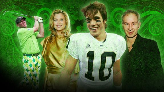 John Daly, Kathy Ireland, Brady Quinn, & John McEnroe