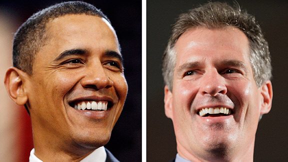 Barack Obama/Scott Brown