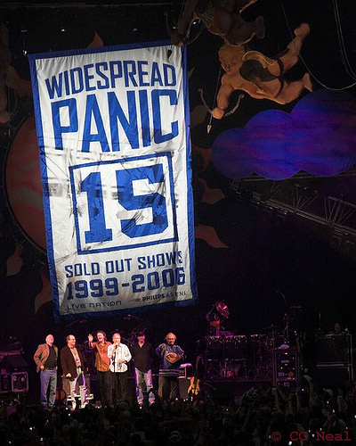 Widespread Panic banner