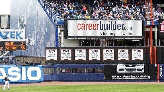 Mets Outfield Wall