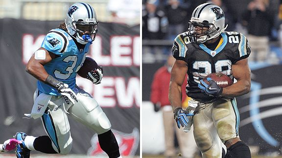 DeAngelo Williams & Jonathan Stewart