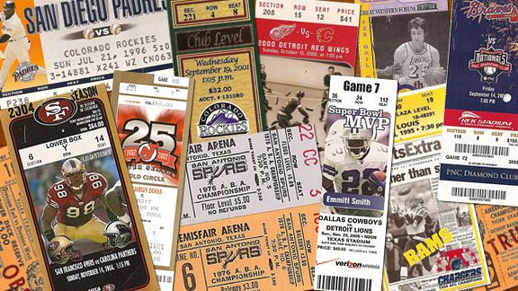 34c10a30 Lukas: The art of ticket stubs finally gets its due - ESPN