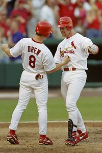 JD Drew, Mark McGwire