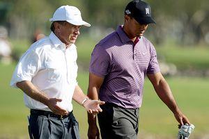 Tiger Woods & Tim Finchem
