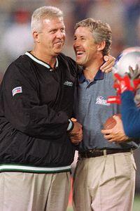 Bill Parcells, Pete Carroll