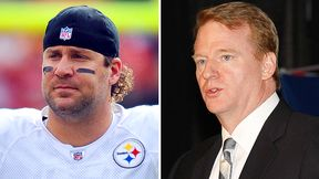 Ben Roethlisberger and Roger Goodell