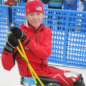 U.S. Paralympic Team member Monica Bascio