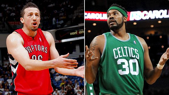 Hedo Turkoglu and Rasheed Wallace