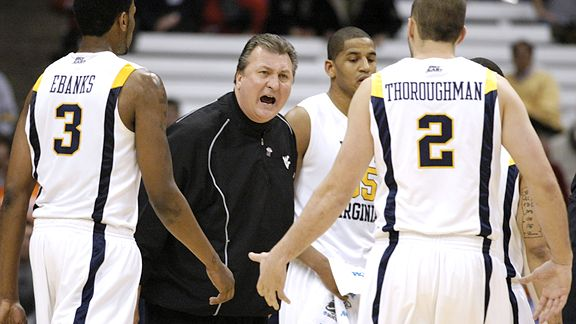 Bob Huggins AP Photo/Kevin Rivoli In his third season at his alma mater,