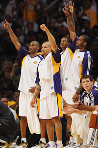 Lakers Celebration