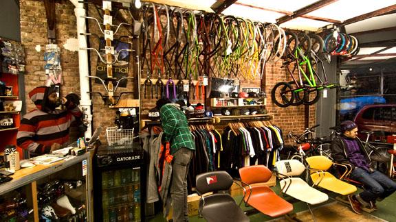 the Brooklyn Banks, Dah Shop is Manhattan s first BMX-specific shop