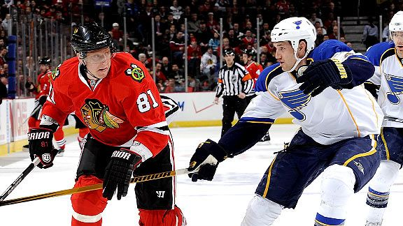 Blackhawks V. Blues