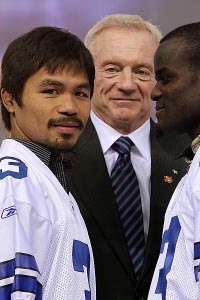 Jerry Jones & Manny Pacquiao
